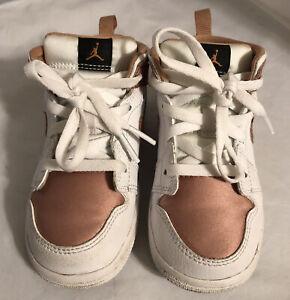 Nike Air Jordan 8C Toddler Shoes 644507-190 Rose Gold. FREE SHIPPING!