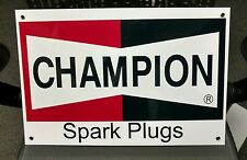 Champion Spark Plugs sign...large....18 inches wide