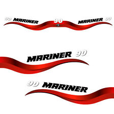 Mariner 90 outboard (2003-2012) decal aufkleber adesivo sticker set