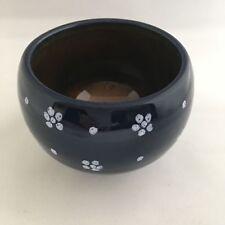 Gmundner Keramik Dirndl Blau Zuckerdose ca. Ø 10cm