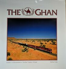 Frateschi HO scale The Ghan Australian train set 1/ C30 Locomotive 3/ Coaches