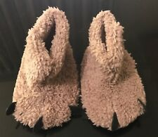 Kid Baby Furry Claw Shoes Boots Winter Warm Home Slippers Pram Shoes