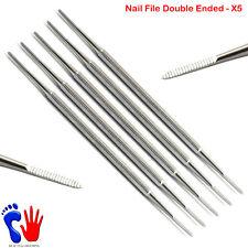 MANICURE PEDICURE Salon Spa chiropody Nail File DOUBLE si è conclusa X 5