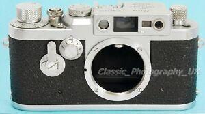 Leica IIIg 35mm Rangefinder Camera Body ONLY made by Ernst Leitz Wetzlar in 1958