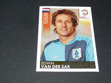 N°260 EDWIN VAN DER SAR PAYS-BAS NEDERLAND PANINI FOOTBALL UEFA EURO 2008