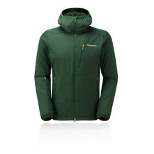 Montane Mens Hydrogen Direct Jacket Top Green Sports Outdoors Full Zip Hooded