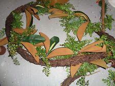 "2 Pottery Barn Magnolia fern  Christmas garland 60""  New"