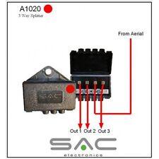 UW25 SAC 3 Branches Extérieur TV Signal D'antenne Répartiteur Tnt UHF DAB FM