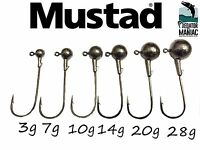 Round ball jig heads. 6/0 Mustad hooks.3pcs 3g-50g.spikey shad,lure fishing