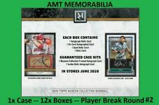 Ryan Howard Phillies 2020 Topps Museum Collection 1X Case 12x BOX BREAK #2