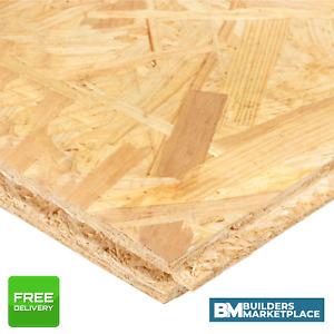 OSB Flooring OSB Board OSB Sheets T&G tongue groove chipboard flooring 8x2 18mm