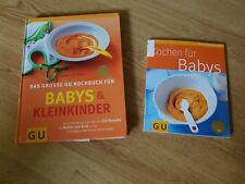 2 kochbücher babys und kleinkinder , kochen für babys