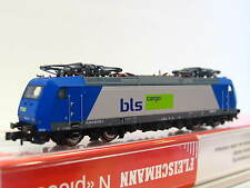 Fleischmann N 877386 E-Lok BR 185 525-3 BLS OVP (Z1421)