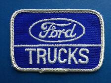 Rare Vintage Ford Trucks Car Club Jacket Hat Coveralls Uniform Patch Crest