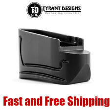 Tyrant Designs Magazine Base Plate Extension +1/2 Rd for M&P Shield 9&40 - Black