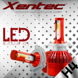 488W 48800LM XENTEC H4 9003 HB2 LED Headlight Kit High/Low Beam Head Fog Bulbs