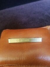 Vintage Tiffany & Co. 14k Gold Engraveable Tie Bar Clip