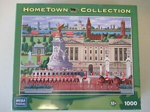 Hometown Collection Changing of the Guard 1000 Piece Puzzle-NEW