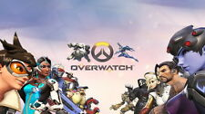 "078 Overwatch - OW FPS 2016 Hot Online Game 42""x24"" Poster"