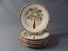 6 Home Trends Salad Plates In The West Palm Pattern