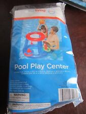 True living Kids Pool Play Center Basketball ring toss age 3+ swimming swim fun
