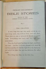 Primary Department Bible Stories Issued By The Deseret Sunday School Union