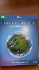 Planet Earth II (Blu-ray Disc, 2017, 2-Disc Set) Free Shipping