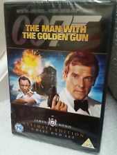MAN WITH THE GOLDEN GUN - OO7 BOND - 2 DISC ULTIMATE EDITION - SEALED - UK
