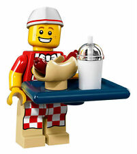 LEGO Collectible Minifigure Series 17 - Hot Dog Vendor 71018 FACTORY SEALED