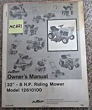 AMF Outdoor Power Equipment   eBay on riding mower transmission, riding mower body, riding mower brakes, riding mower brochure, riding mower won't start, mtd riding mower diagram, riding mower spark plugs, riding mower electrical diagram, riding mower exhaust, riding mower engine, bolens lawn tractor diagram, craftsman riding lawn mower ignition diagram, riding lawn mower electrical schematic, bolens riding lawn mower diagram, riding mower suspension, poulan pro riding mower belt diagram, riding mower cable, riding mower solenoid diagram, riding mower manuals, riding mower tractor,