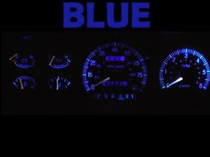 Gauge Cluster LED Dash kit Blue For Ford 87 91 Bronco F150 F250 F350 Truck