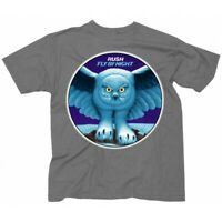 RUSH T-Shirt Fly By Night Album Cover Gray New Authentic Rock Tee S-2XL