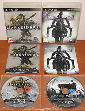 Darksiders Collection (1 & 2 / II) Vigil Games, PlayStation 3 PS3, Ver. Española