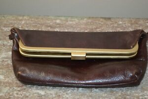 LATICO NJ . USA Cordovan Leather Wristlet, Wallet, Clutch Organizing Hand Purse