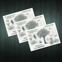 New Nature Silicone Rubber Clear Transparent Stamp Hot Scrapbooking Sale Di H1N2