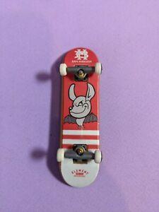 Bam Margera Element Tech Deck -- Rare Pink Bat Board