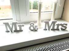 3 pcs/set Mr & Mrs Wedding Marriage Decor Birthday Party Decor Letters Popular