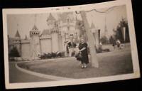 Disneyland 1960 PHOTO Grandma & Sleeping Beauty Castle 5th Anniv Walt Disney