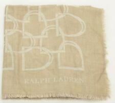 066d8f0a72f9 Ralph Lauren Femmes Beige Cachemire  laine Châle Écharpe