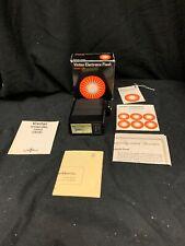 Vivitar Electronic Flash Model 102 Automatic W/Original Box & Instructions FS