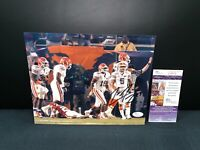 JOE HADEN FLORIDA GATORS SIGNED 8X10 PHOTO W/JSA COA T38619