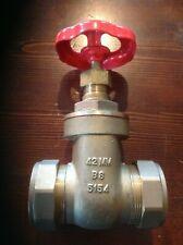 42mm Gate Valve  BS5154 plumbing water stopcock brass