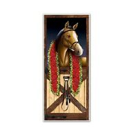 Party Supplies Spring Carnival Melbourne Cup  Horse Racing Door Cover
