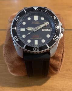 Citizen NY2300 Automatic Diver Watch 200M Arabic/English Wheel