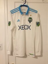 Seattle Sounders FC adidas 2017/18 Authentic Long Sleeve Soccer Jersey MLS USA