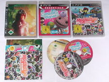 3 Spitzen KINDER Spiele für Playstation 3 z.B. LITTLE BIG PLANET; NARNIA; MODNAT