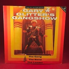 Gary Glitter's Gangshow The Leader 1989 UK Double Vinyl LP EXCELLENT CON glitter