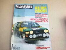 """REVUE  """" L' AUTO JOURNAL """" N° 3  ANNEE  1981  *"""
