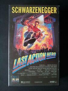 Schwarzenegger Last Action Hero VHS 1993 Bon etat
