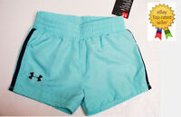 Under Armour girls Athletic Sports SPRINT tropical tide shorts 4 NEW